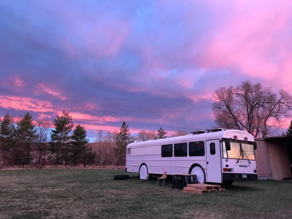 Off Grid School Bus For Sale