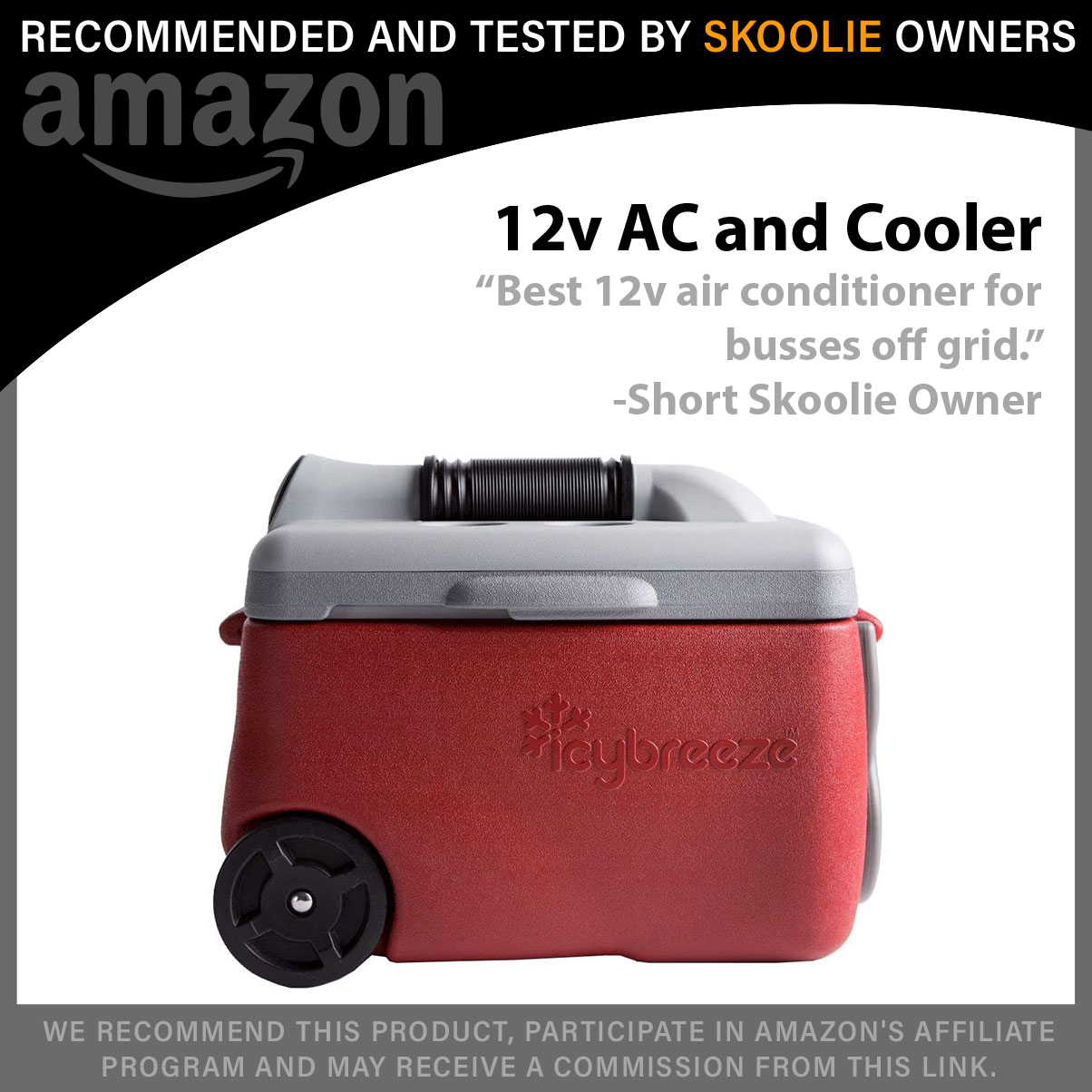 Icy Breeze 12v Cooler and Air Conditioner