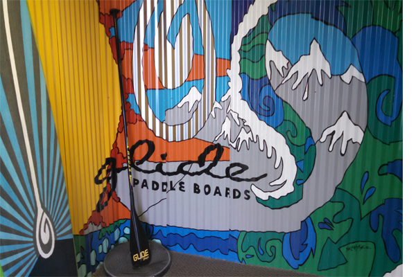 Glide Paddleboards Warehouse Tour - Bus Life Adventure
