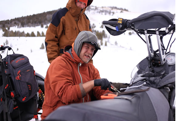 Bad Fuel Pumps, Snowmobile Problems and The Wind Rivers