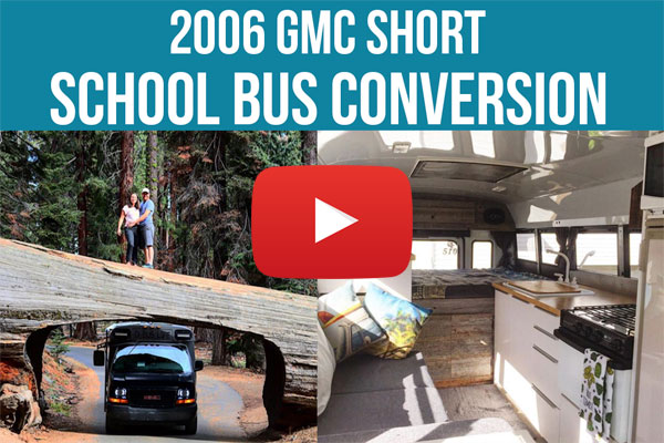 VIDEO - 2006 GMC Short School Bus Conversion By D Bus Life