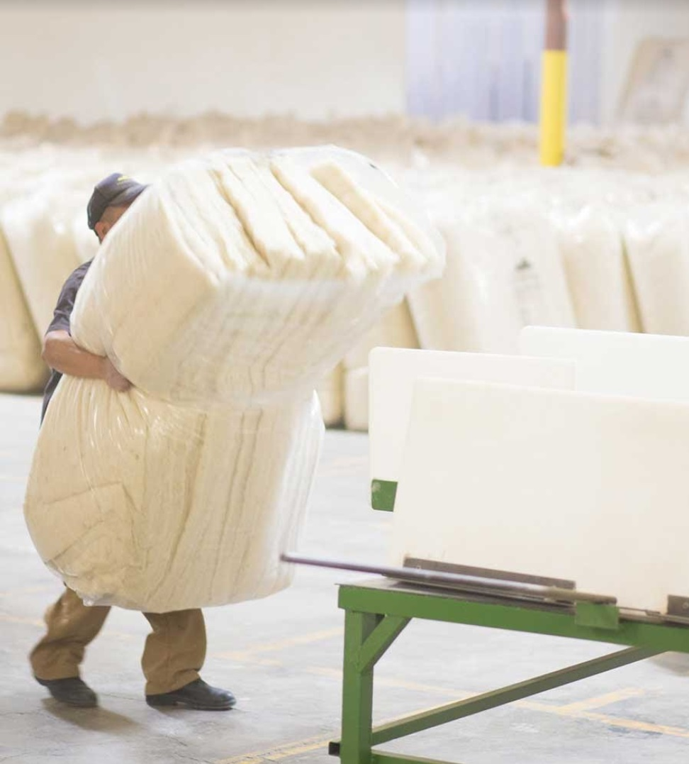Havelock Wool Insulation processing