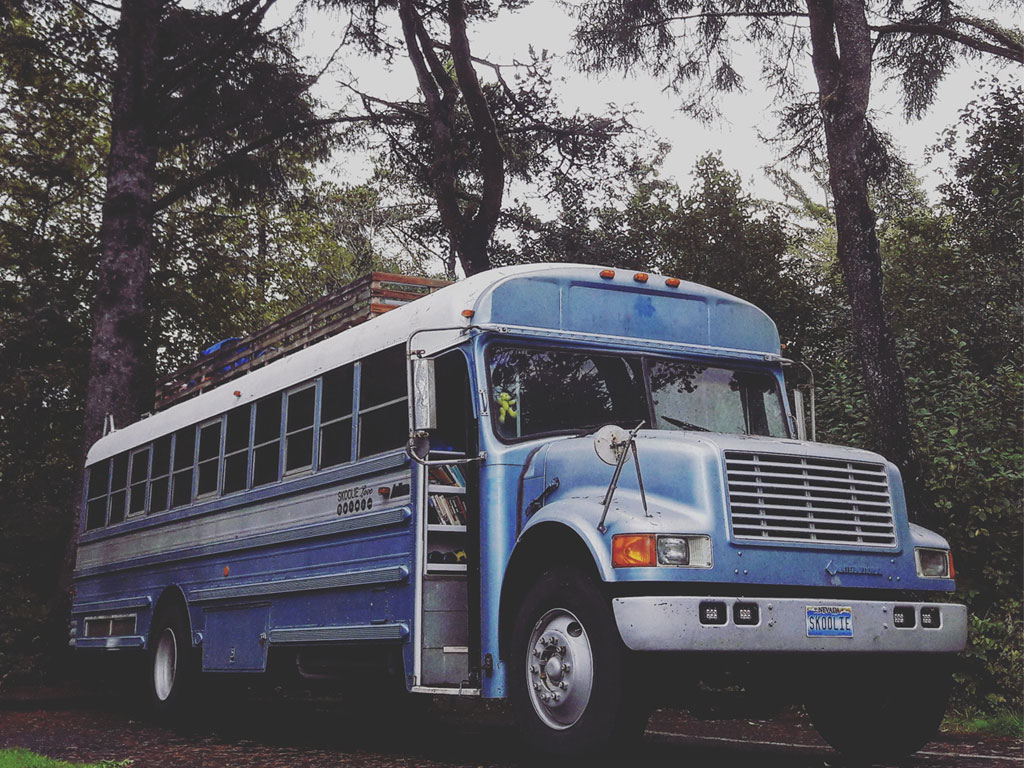 Skoolie Love Bus Conversion