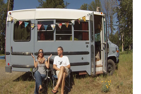 VIDEO - Bus Conversion - 1995 Chevy Bus Conversion
